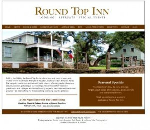 Round Top Inn Website